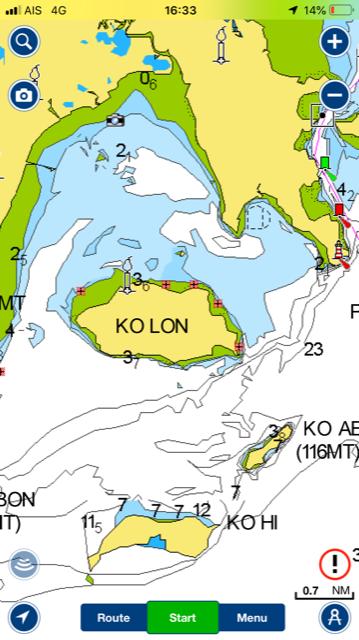 Ao Yon and surrounding Islands